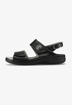 GUNNA - Sandals - schwarz