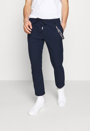 SCANTON SOLID TRACK - Trousers - dark blue