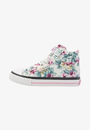 DEE - High-top trainers - white flower