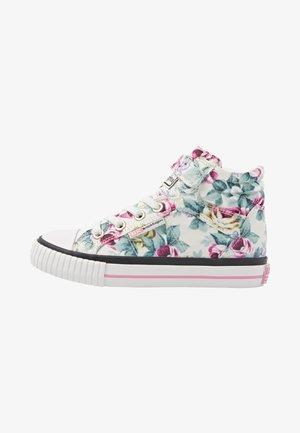 DEE - Sneakers hoog - white flower