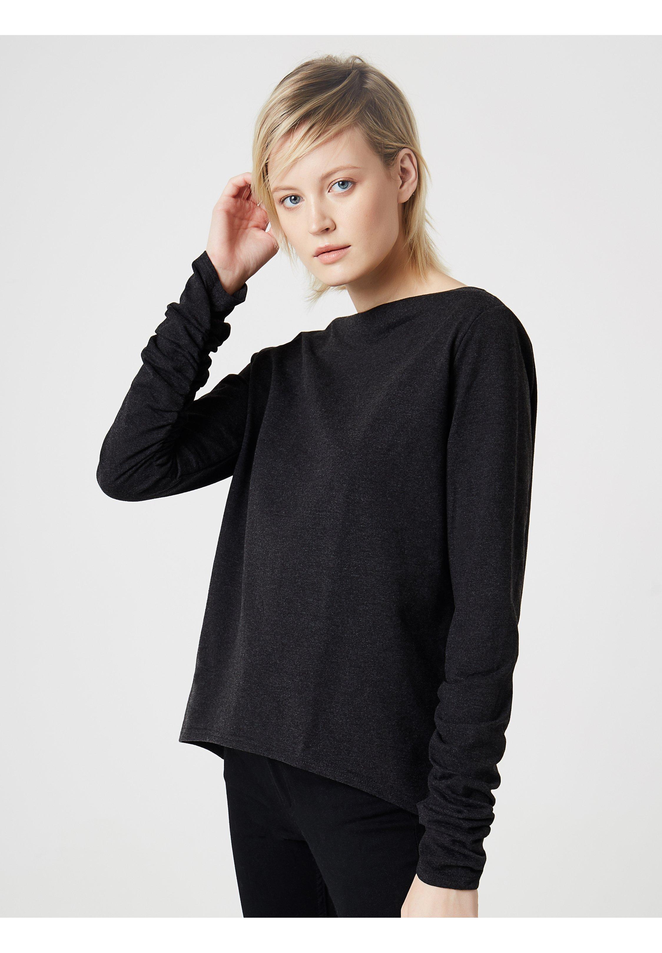 usha Sweatshirt - dunkelgrau melange - Pulls & Gilets Femme 6KpyK