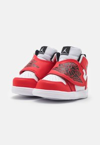 Jordan - SKY 1 UNISEX - Basketbalové boty - white/black/university red - 1