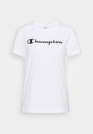 ESSENTIAL CREWNECK LEGACY - Print T-shirt - white