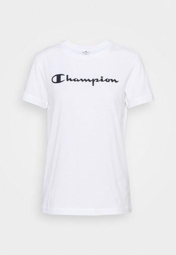 ESSENTIAL CREWNECK LEGACY - T-shirt med print - white