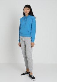 New Look - BASIC BASIC  - Tracksuit bottoms - grey marl - 1