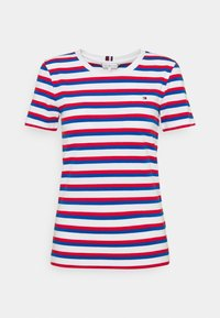 Tommy Hilfiger - COOL SLIM ROUND - Print T-shirt - ombre/ fireworks - 0