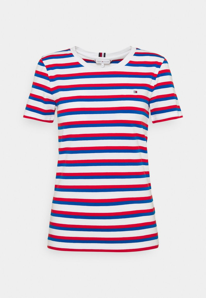 Tommy Hilfiger - COOL SLIM ROUND - Print T-shirt - ombre/ fireworks