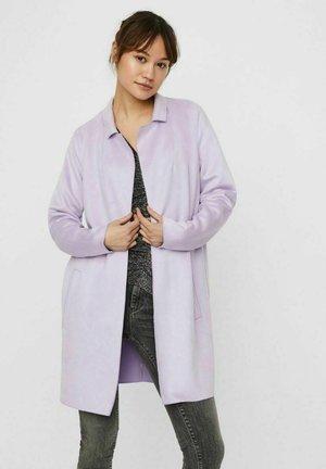 Short coat - pastel lilac