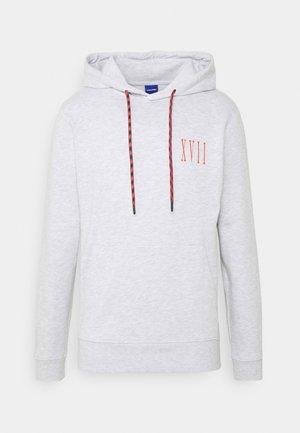 JORASPEN HOOD - Sweatshirt - white melange