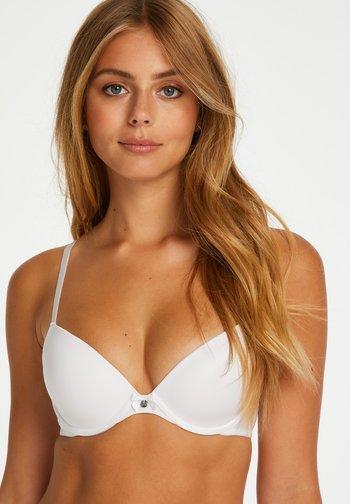 P&M plunge - Underwired bra - white