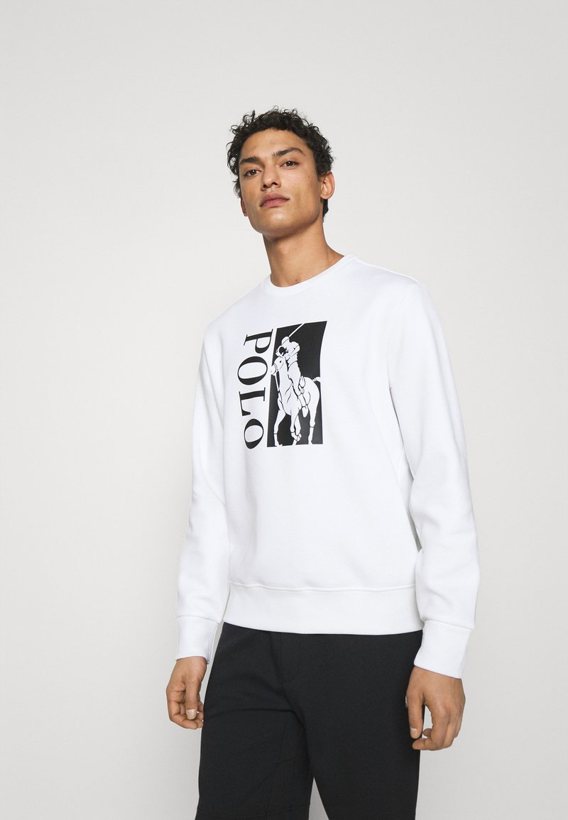 Polo Ralph Lauren - DOUBLE TECH - Sweatshirt - white