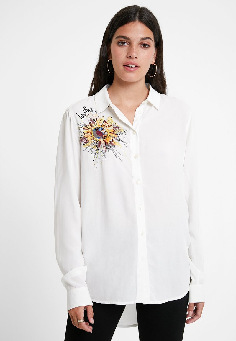 Desigual - CAM_SELLY - Button-down blouse - white