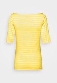 GAP - BOATNECK - Print T-shirt - yellow - 1
