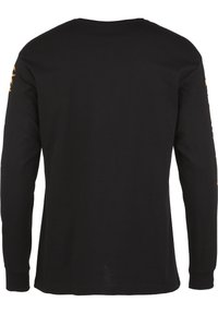 Chi Modu - Long sleeved top - black/print orange - 1