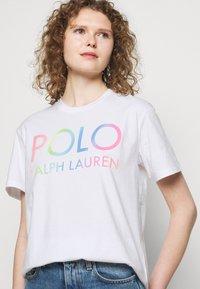 Polo Ralph Lauren - T-shirts med print - white - 3