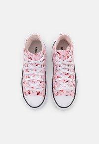 Converse - CHUCK TAYLOR ALL STAR UNISEX - Zapatillas altas - pink foam/white/black - 3