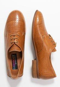 Everybody - Zapatos de vestir - tobacco - 3