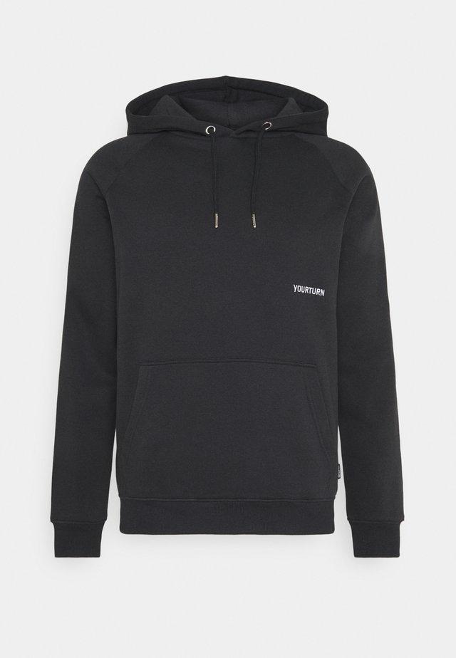 UNISEX - Kapuzenpullover - black