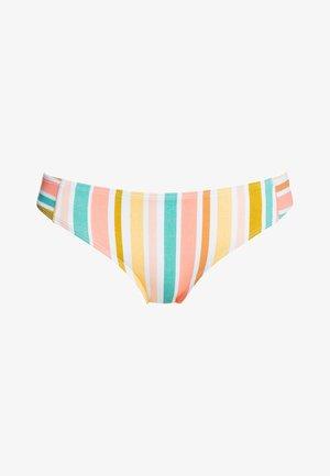 Bikini bottoms - bright white aloha stripe