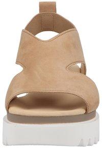 Gabor - Platform sandals - caramel - 5