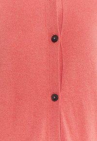 Marc O'Polo - CARDIGAN LONGSLEEVE BUTTON CLOSURE SADDLE SHOULDER - Cardigan - hazy peach - 2