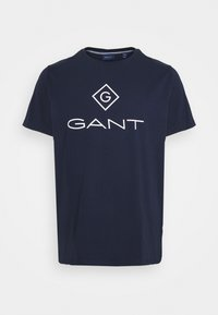 GANT - LOCK UP - T-shirt med print - evening blue - 0