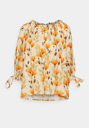 RAGLAN SLEEVE DRESS - Blouse - poppy peach