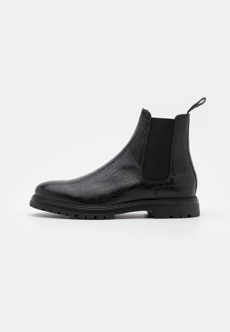 LAST STUDIO - CORMAC CROCO - Classic ankle boots - black