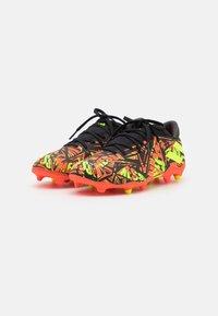 adidas Performance - NEMEZIZ MESSI .3 FG - Moulded stud football boots - solar red/solar yellow/core black - 1