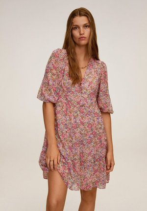PRARIE6 - Day dress - rose