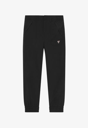 JUNIOR  - Stoffhose - jet black