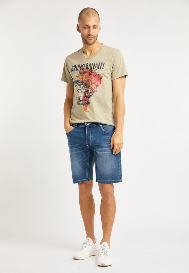 T-shirt con stampa - stone