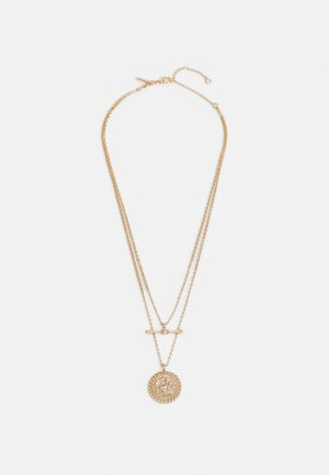 COIN TBAR MULTIROW - Collana - gold-coloured