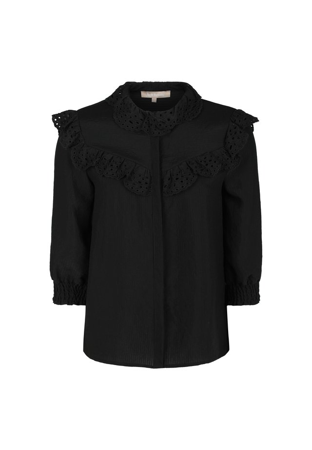 Overhemdblouse - 001 black