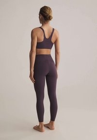 OYSHO - Leggings - dark purple - 2
