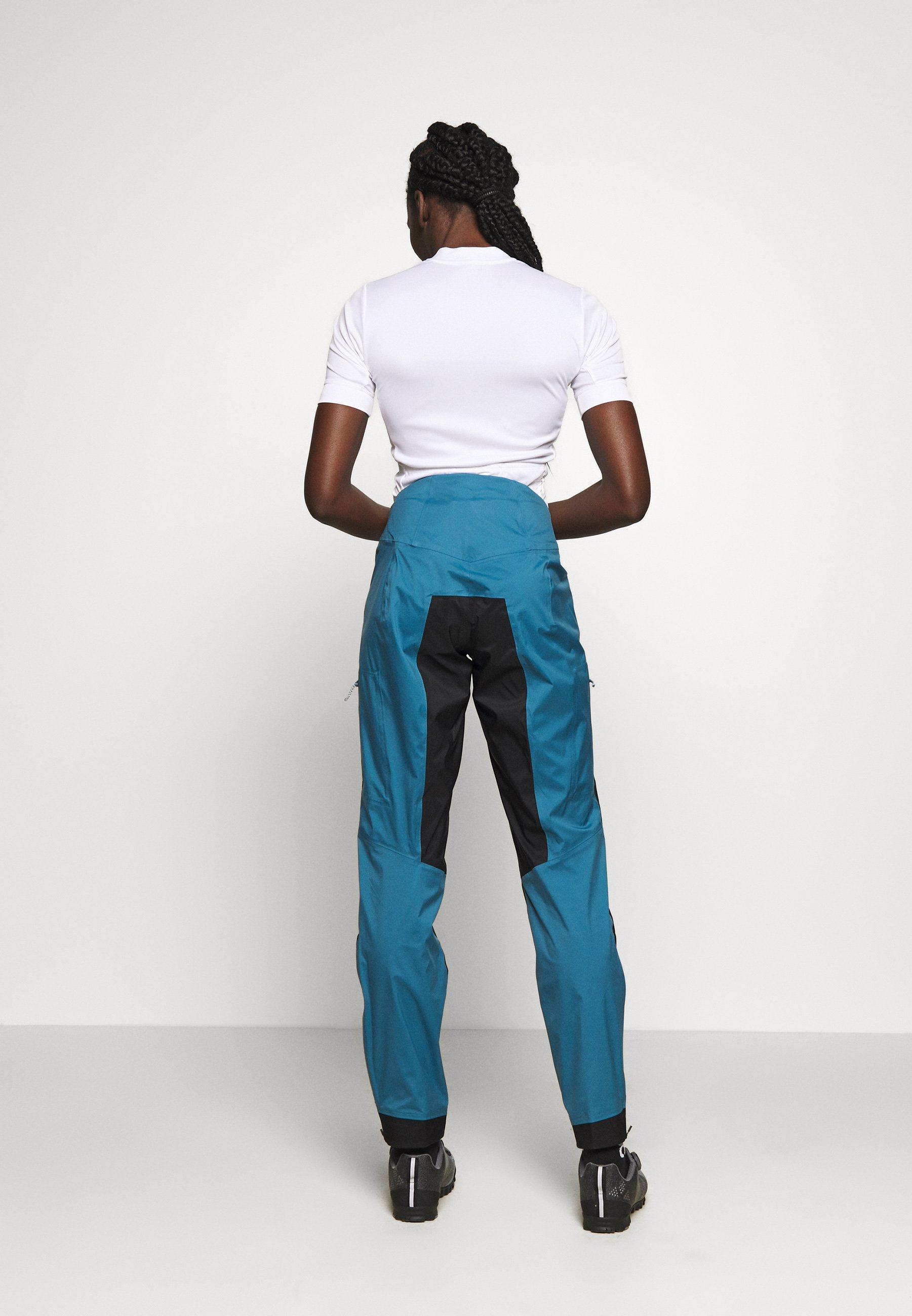 Fast Delivery Women's Clothing Patagonia DIRT ROAMER STORM PANTS Outdoor trousers steller blue uTT81aHJ1