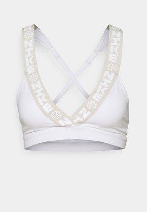 INDY BRA - Sports bra - white/light bone
