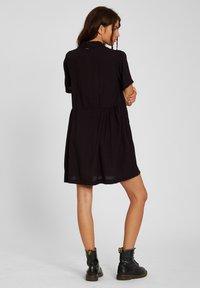 Volcom - THATS MY TYPE SS DRESS - Shirt dress - black - 1