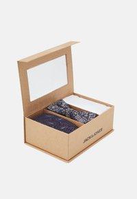 Jack & Jones - JACSHINNY NECKTIE SET - Cravatta - dark blue/gold-coloured - 5