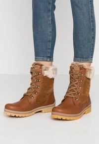 Panama Jack - TUSCANI - Lace-up ankle boots - bark - 0