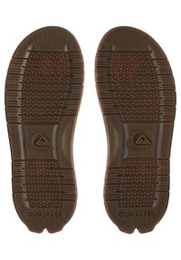 Quiksilver - T-bar sandals - brown/brown/brown - 2