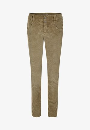 COLOURED CORD - Jeans Skinny Fit - khaki