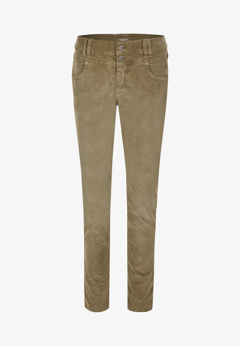 Angels - COLOURED CORD - Jeans Skinny Fit - khaki