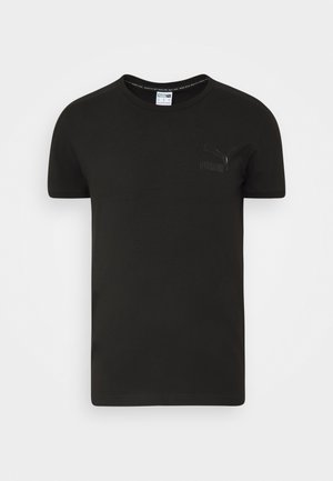 ICONIC SLIM - Sportshirt - black