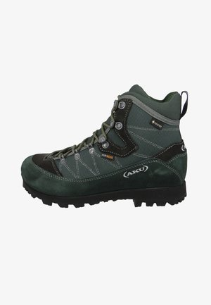 TREKKER LITE III GTX 977 - Hiking shoes - anthracite-green