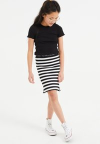 WE Fashion - Mini skirt - all-over print - 0