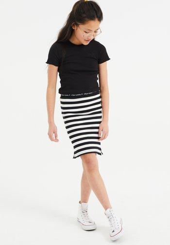 Mini skirt - all-over print