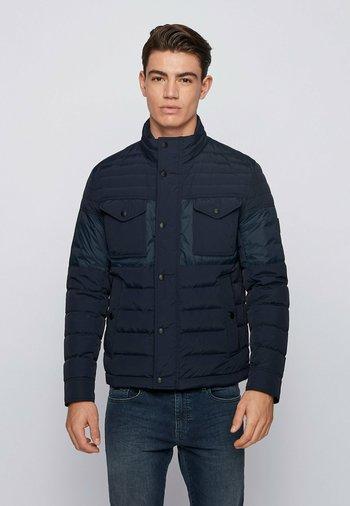 Gewatteerde jas - dark blue