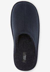 Next - Slippers - mottled royal blue - 1