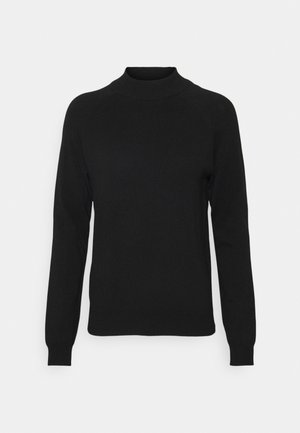 PCESERA HIGH NECK - Jumper - black